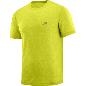 Salomon Explore Shortsleeve Shirt Men yellow
